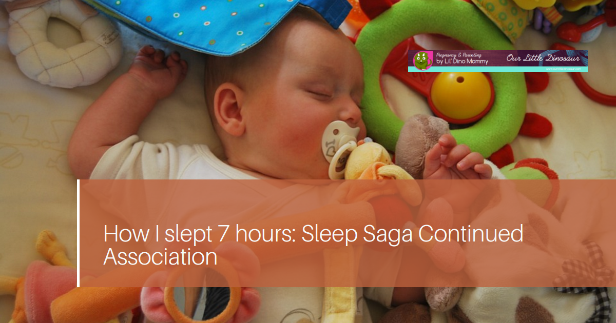 How I slept 7 hours: Sleep Saga Continued