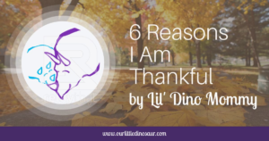 6 Reasons I Am Thankful